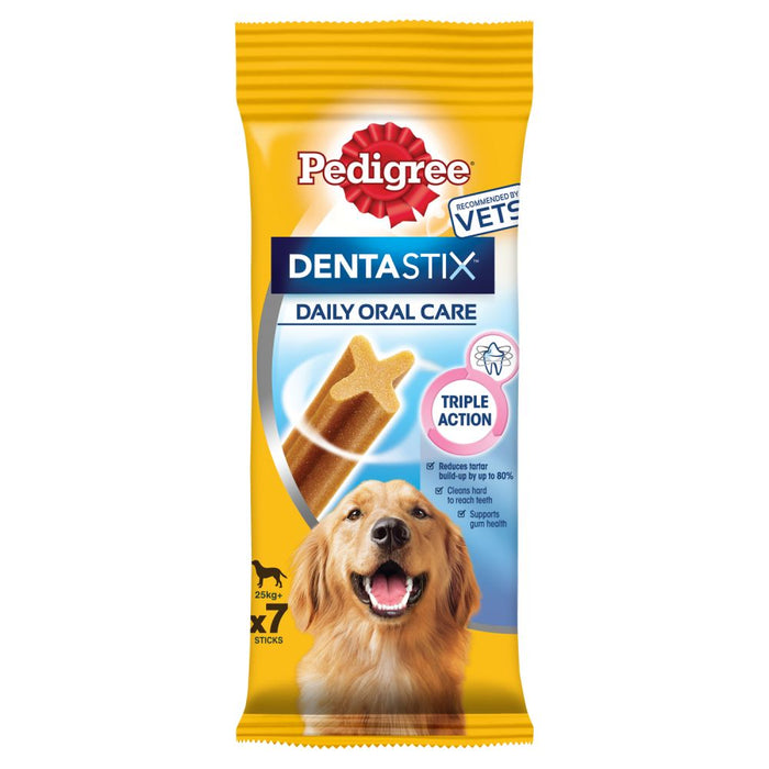 Pedigree Dentastix Large Dog Treats 7 Sticks