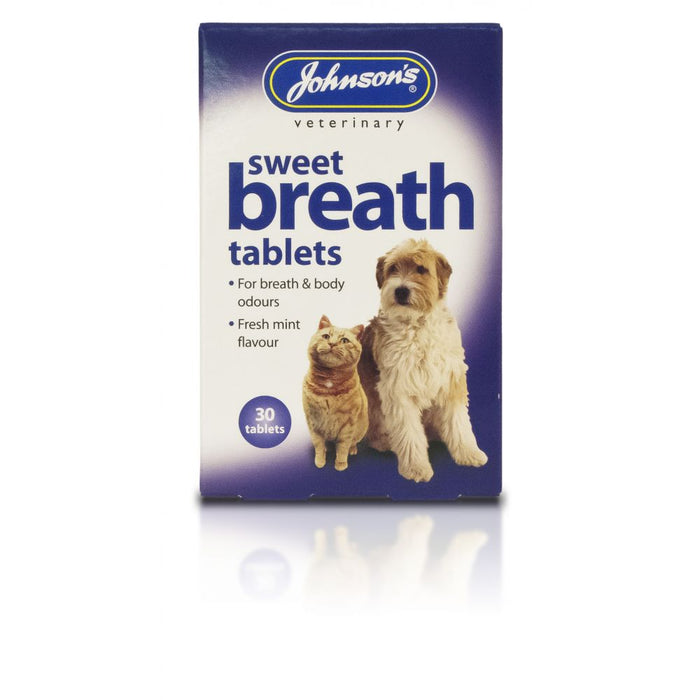 Johnsons Sweet Breath Tabs 30s