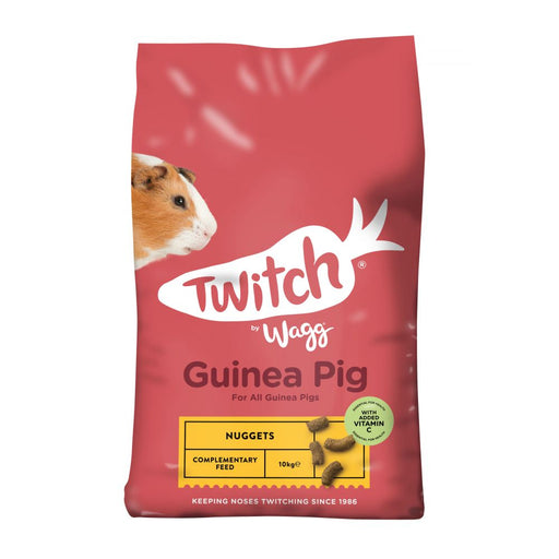 Wagg Twitch Guinea Pig Crunch Food 10kg