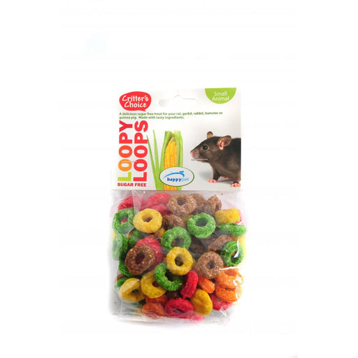 Critter's Choice Loopy Loops Small Animal Treats - 50g