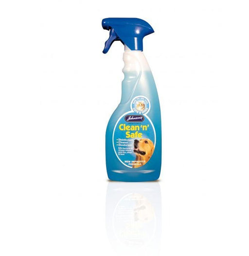 Johnsons Clean & Safe Dog Cat Disinfectant 500ml