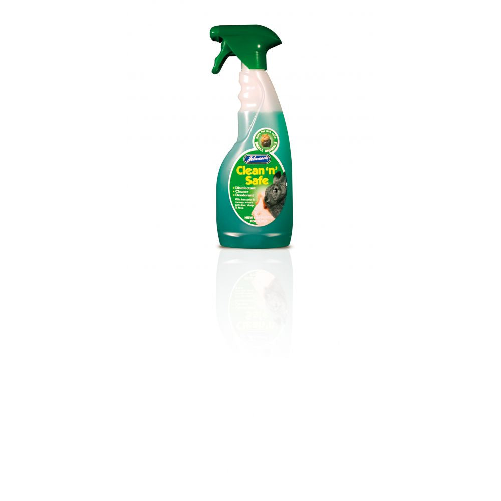 Johnsons Clean & Safe Small Animal 500ml