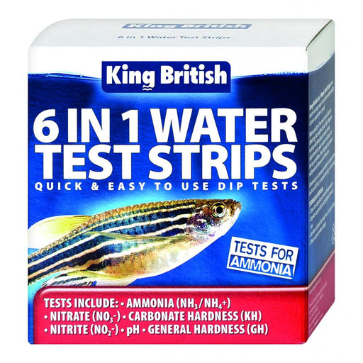 King British 6 in 1 Test Kit
