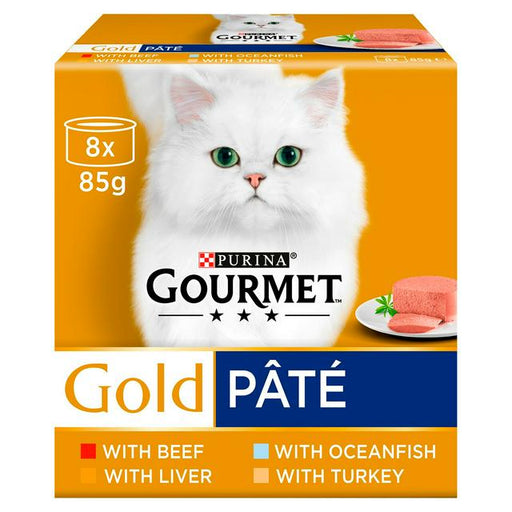 Gourmet Gold Pate Recipes 8x85g