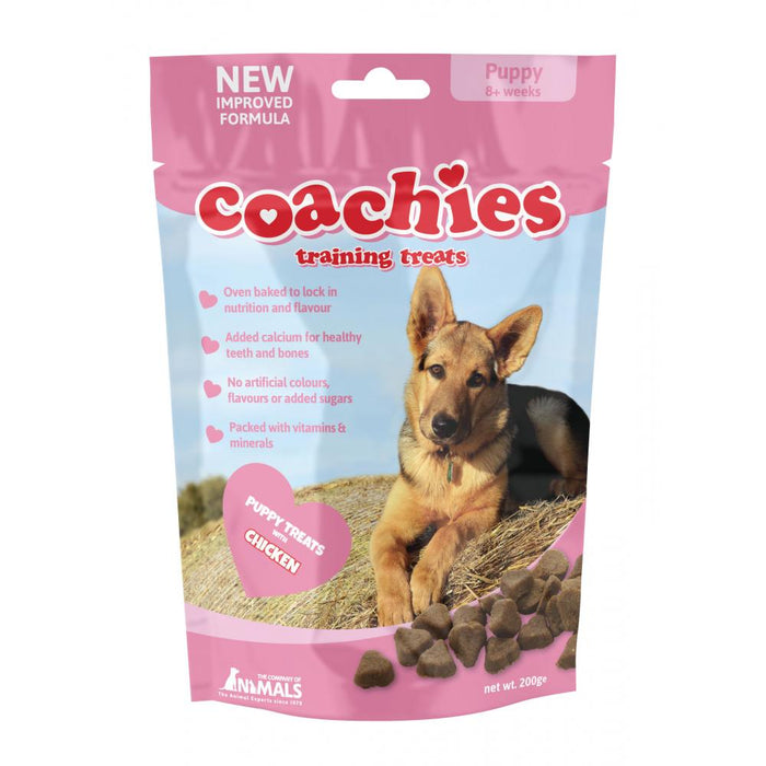 Coachies Chicken Training Treats for Puppies - 200g