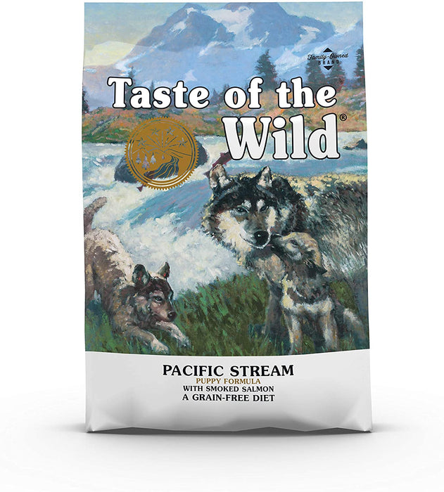 Taste of the Wild Pacific Stream with Smoked Salmon Puppy Food - 2Kg