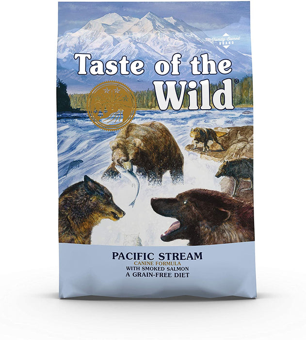 Taste of the Wild Pacific Stream with Smoked Salmon Dry Dog Food - 2Kg