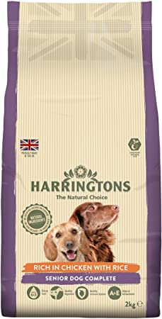 Harringtons Senior Chicken Dry Dog Food - 2kg