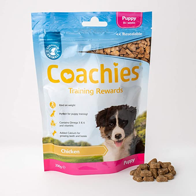 Coachies Chicken Training Treats for Puppies 200g
