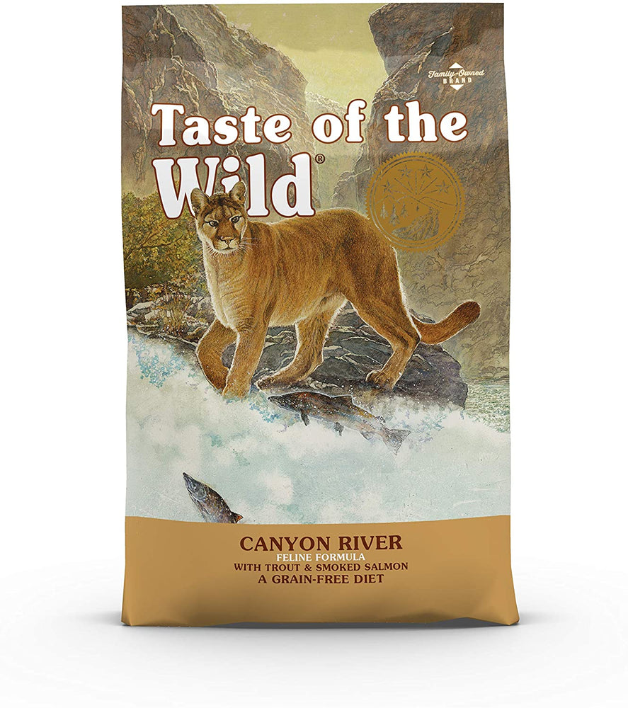 Taste of the Wild Canyon River Dry Cat Food - 2kg