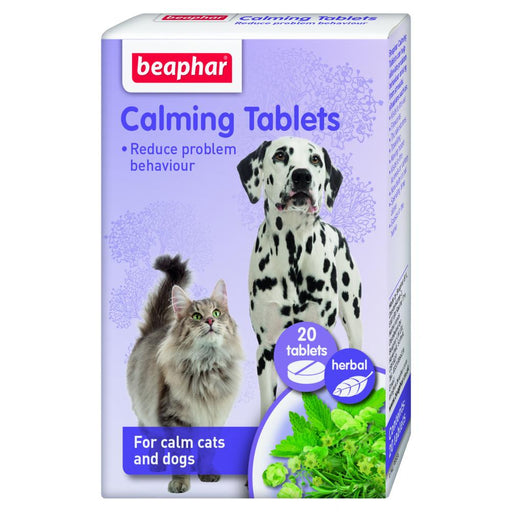 Beaphar Calming Tablets For Cats And Dogs 20 tablets