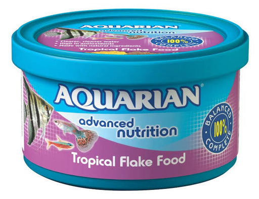 Aquarian Tropical Fish Food - 13g
