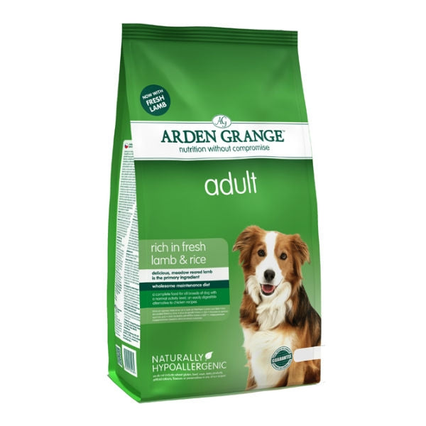 Arden Grange Lamb & Rice Dog Food - 12kg