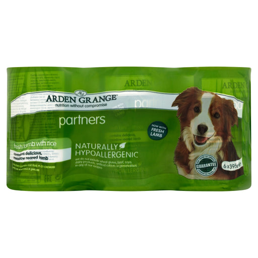 Arden Grange Partners Lamb 24 cans x 395g - Dog Food