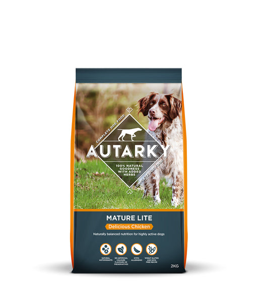 Autarky Mature Lite Delicious Chicken Dry Dog Food - 2kg