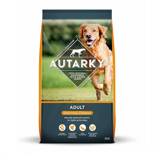 Autarky Adult Delicious Chicken Dry Dog Food - 2kg
