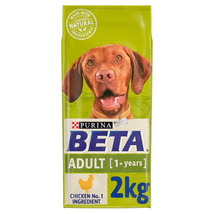 BETA Adult Dry Dog Food with Chicken 2kg