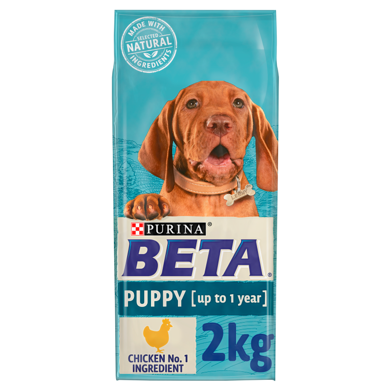 BETA Dry Puppy Food with Chicken 2kg
