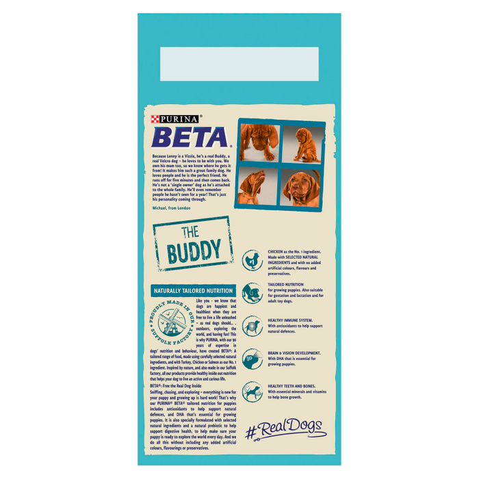 BETA Dry Puppy Food with Chicken 2kg - 2