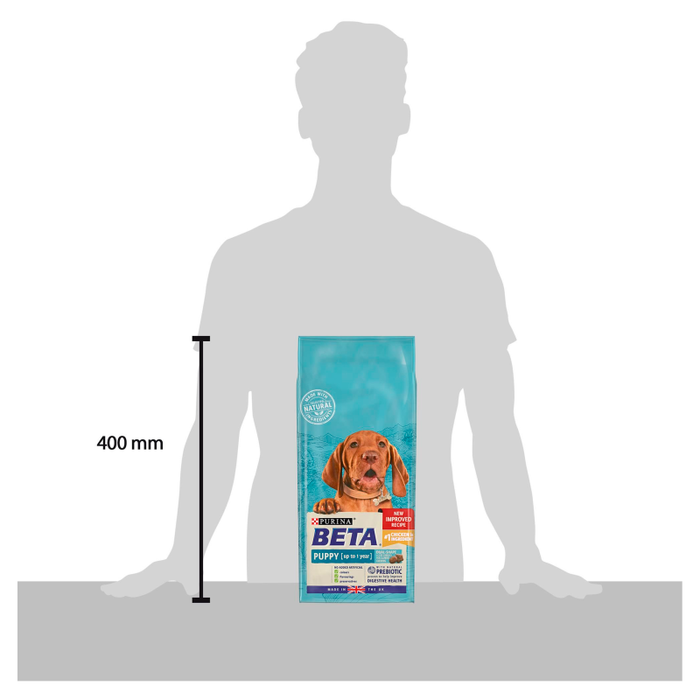 BETA Dry Puppy Food with Chicken 2kg - 3