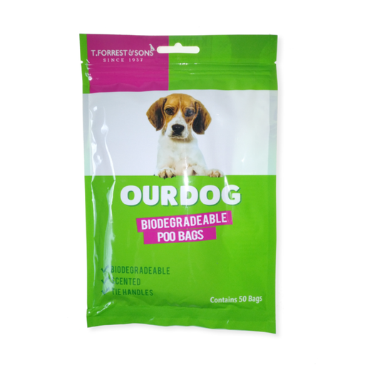 T. Forrest Our Dog Biodegradable Poo Bags - 50 Bags
