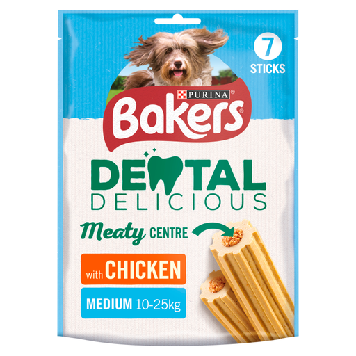 Bakers Medium Dental Delicious with Chicken - 200g