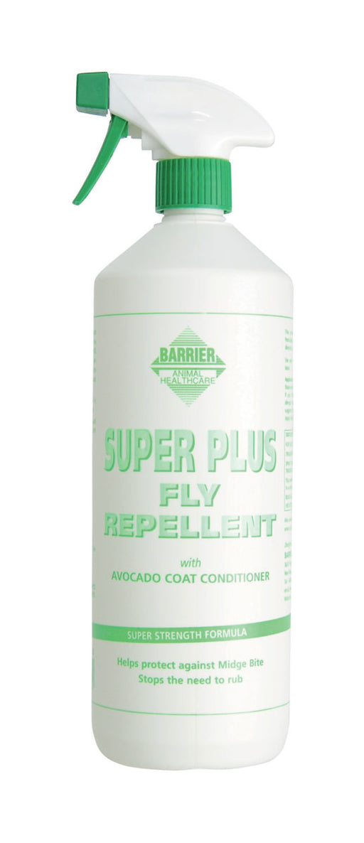 Barrier Super Plus Fly Repellent Spray for Horses - 1L