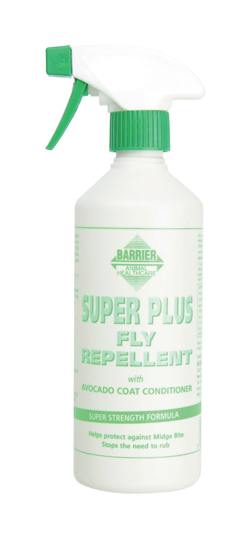 Barrier Super Plus Fly Repellent Spray for Horses - 500ml