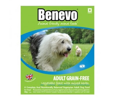 Benevo Vegan Grain Free Dog Food Trays - 10 Pack