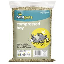 Bestpets Compressed Hay Standard Pet Bedding-500g