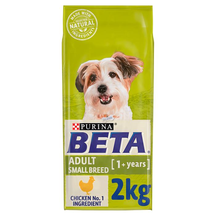 Beta Adult Small Breed Chicken Dry Dog Food 2kg