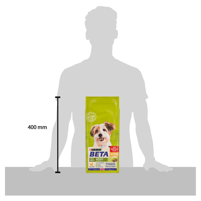 Beta Adult Small Breed Chicken Dry Dog Food 2kg - 3