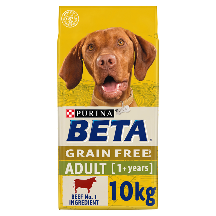 Beta Grain Free Adult Beef Dry Dog Food 10kg