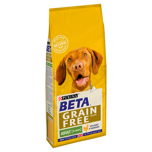 Beta Grain Free Adult Chicken Dry Dog Food 1.5kg