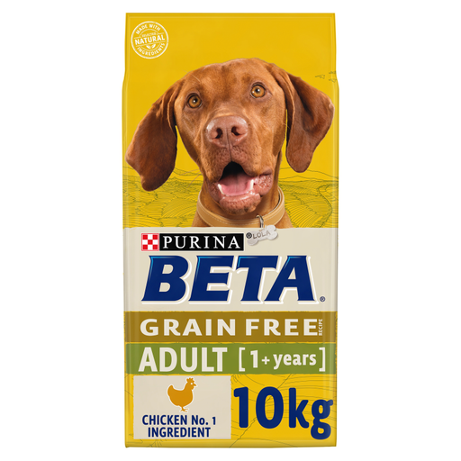 Beta Grain Free Adult Chicken Dry Dog Food 10kg