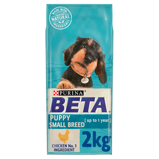 Beta Puppy Small Breed Chicken Dry Dog Food 2kg