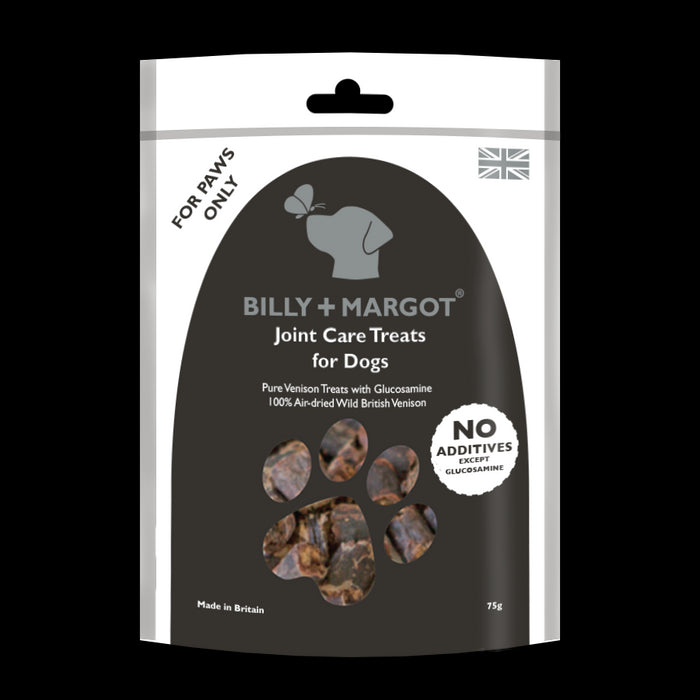 Billy & Margot Venison Joint Care Dog Treats 75g