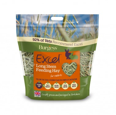 Burgess Excel Long Stem Feeding Hay - 1kg