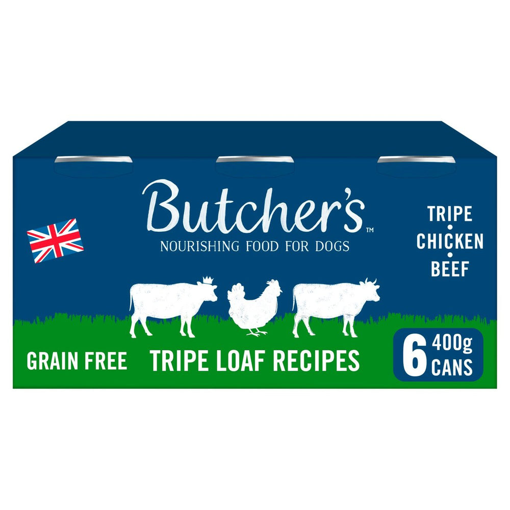Butchers Tripe Loaf Recipes - 6 x 400g