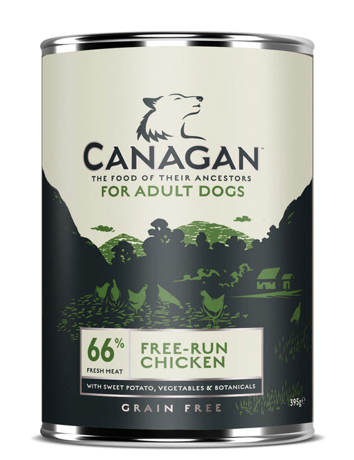 Canagan Grain Free Free-Run Chicken Dog Cans 6 Pack - 400g