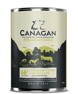 Canagan Grain-Free Welsh Lamb Dog Cans 6 Pack - 400g