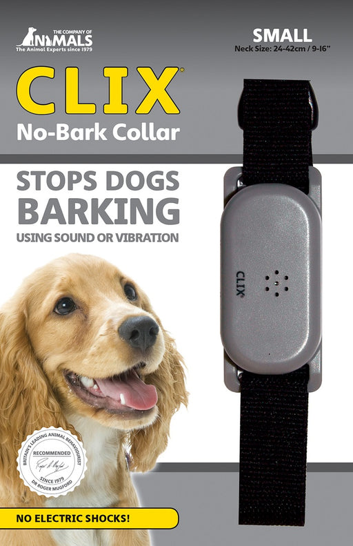 Clix No Bark Vibrate and Sound Collar
