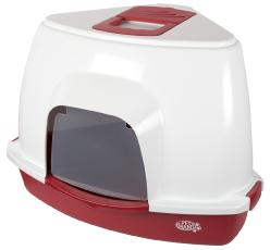 Corner Litter Tray With Hood