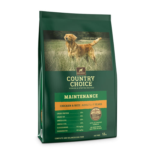 Country Choice Maintenance Chicken & Rice - 12kg