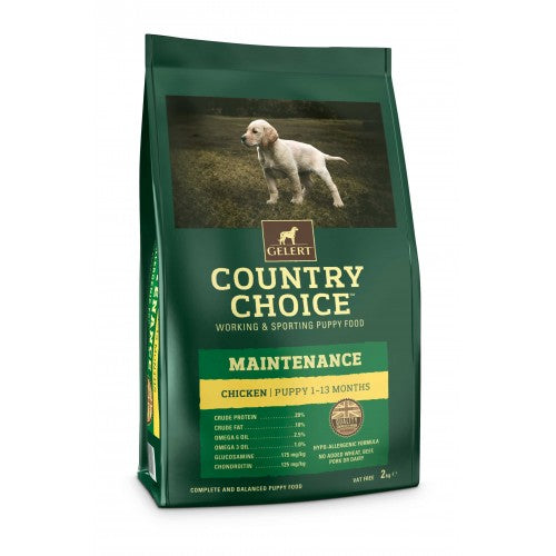 Country Choice Maintenance Chicken & Rice Puppy Food - 2kg