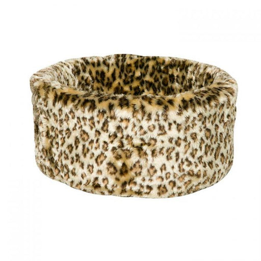 Danish Design Cat Cosy Leopard Bed