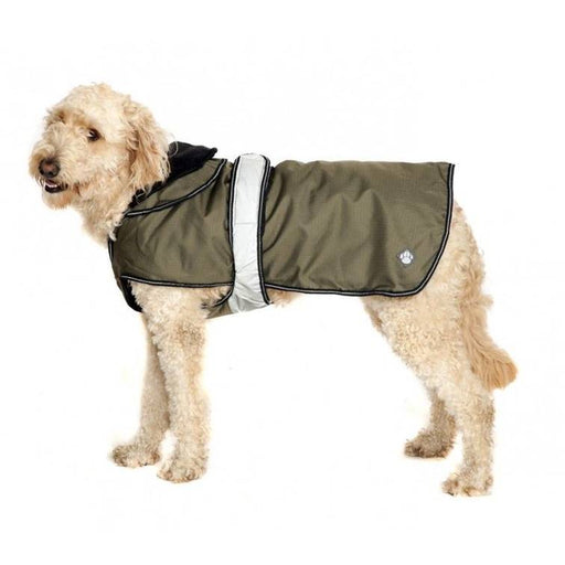 Danish Design Khaki 2 in 1 Dog Coat