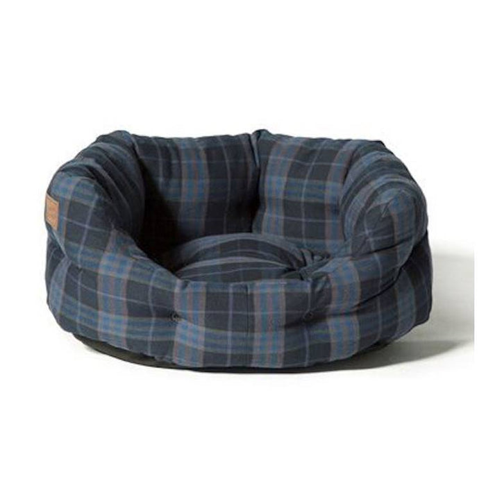 Danish Design Lumberjack Navy/ Grey Deluxe Slumber Bed