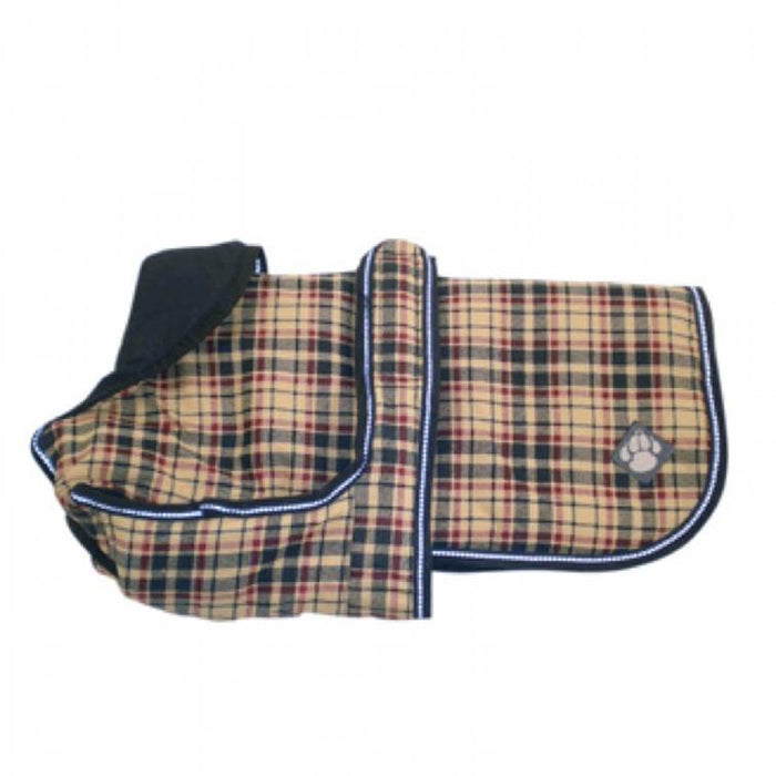 Danish Design Luxury Check Dog Coat