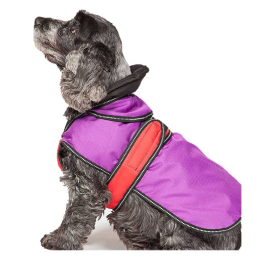 Danish Design Purple 2 in 1 Dog Coat